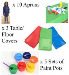 Large Messy Play Set